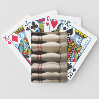 Bowling Pins Bicycle Playing Cards