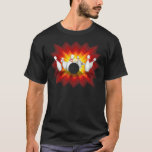 Bowling Pins Explosion: 3D Model: T-Shirt