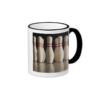 Bowling Pins Ringer Mug