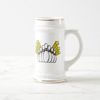 Bowling Pins Coffee Mugs