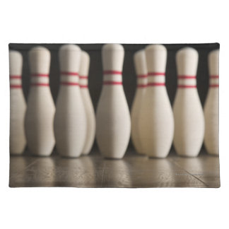 Bowling Pins Placemat