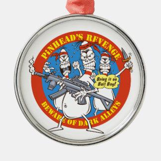 Bowling Pins Revenge Christmas Ornament