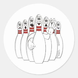 Bowling Pins Sticker