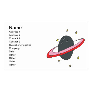 Bowling Planet Pack Of Standard Business Cards