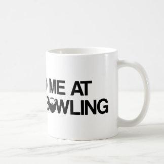 Bowling Products Basic White Mug