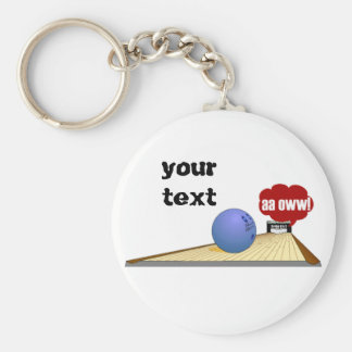 Bowling products key ring