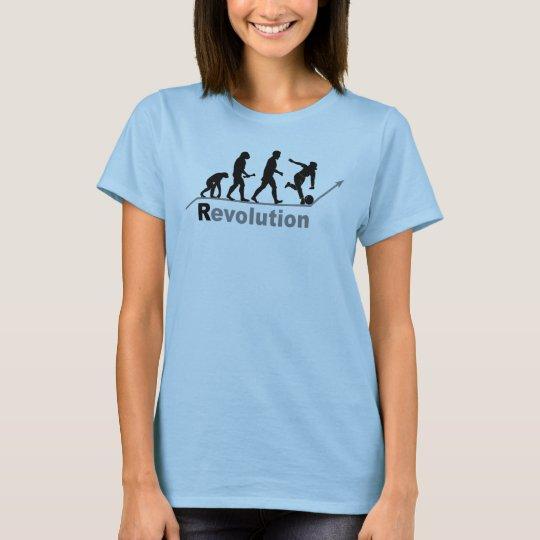 Bowling Revolution Womens T-shirts