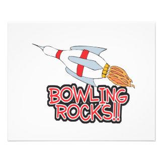 bowling rocks pin rocket 11.5 cm x 14 cm flyer
