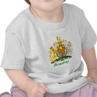 Bowling Shield of Great Britain Tee Shirts