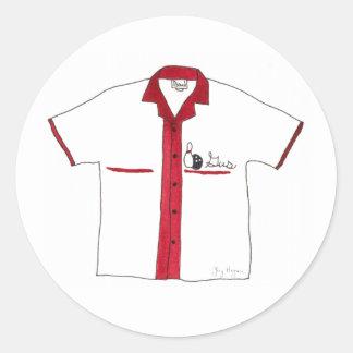 Bowling Shirt Sticker