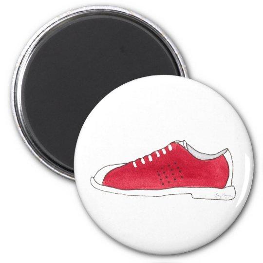 Bowling Shoe Magnet