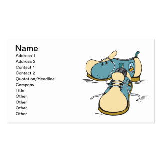 Bowling Shoes Pack Of Standard Business Cards