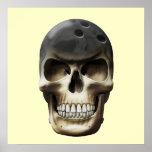 Bowling Skull Print