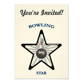 Bowling Star Custom Invite