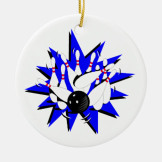 Bowling Strike Christmas Ornament