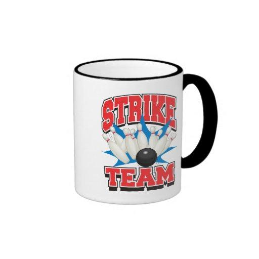 Bowling Strike Team Mugs