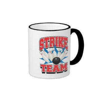 Bowling Strike Team Ringer Mug