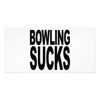 Bowling Sucks Photo Card Template
