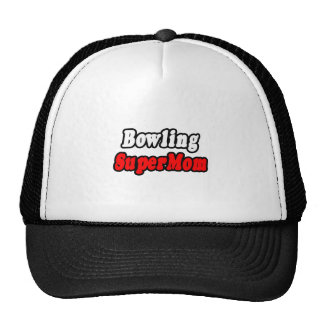 Bowling SuperMom Trucker Hats