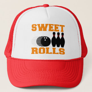 Bowling Sweet Rolls Trucker Hat