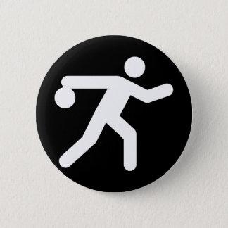 Bowling Symbol Button