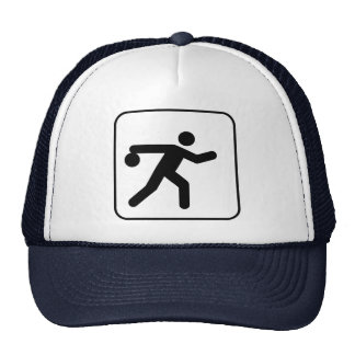 Bowling Symbol Hat