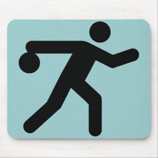 Bowling Symbol Mousepad