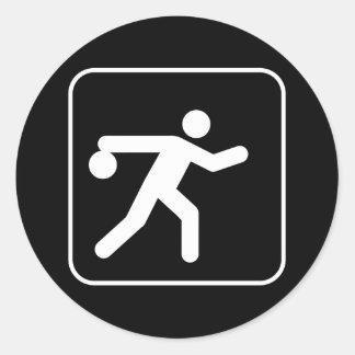 Bowling Symbol Sticker