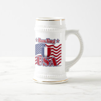 Bowling USA Beer Steins