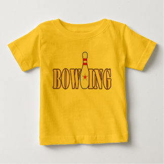 Bowling with Pin Baby T-Shirt