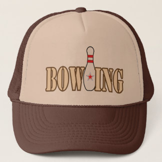 Bowling with Pin Trucker Hat