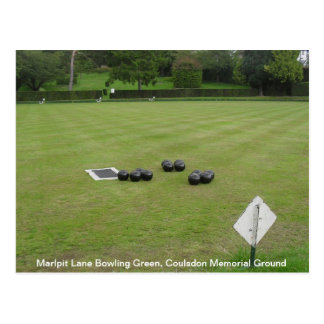 Bowls on the Green 2013 Postcard