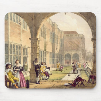 Bowls on the Terrace at Bramshill in 1600, from 'A Mouse Mat