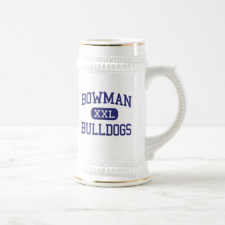 Bowman - Bulldogs - High - Santa Clarita Beer Stein
