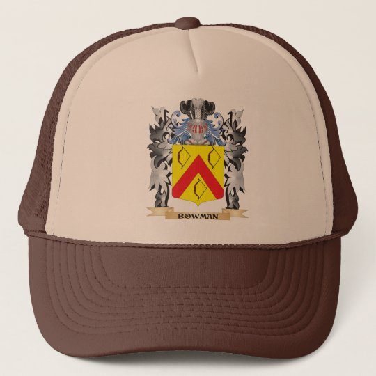 Bowman Coat of Arms - Family Crest Trucker