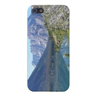 Bowman Lake Glacier National Park iPhone 5 Cases