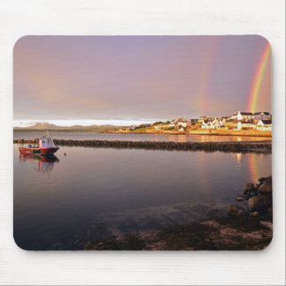 Bowmore Harbour Rainbow Mouse Mat