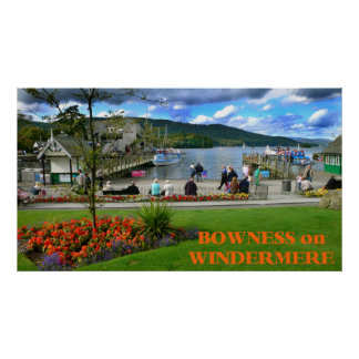 Bowness-on-Windermere, England Poster
