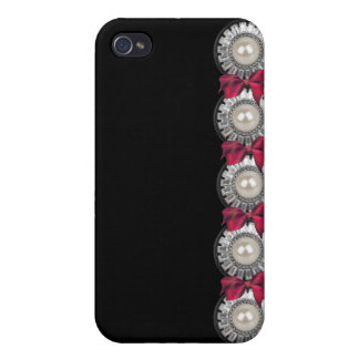 Bows and Jewels I phone case iPhone 4 Covers