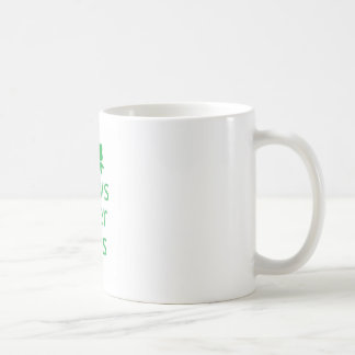 Bows over brows- green mugs