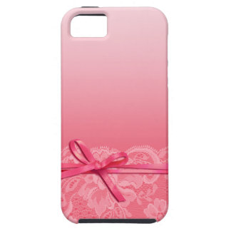 Bows Ribbon & Lace | pink iPhone 5 Cases