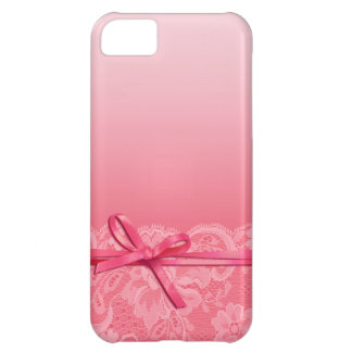Bows Ribbon & Lace | pink iPhone 5C Covers