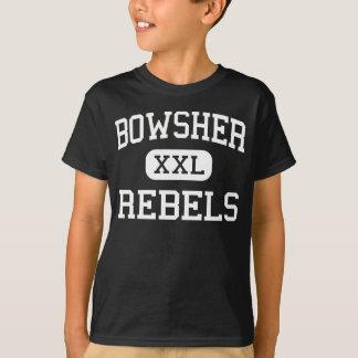 Bowsher - Rebels - High School - Toledo Ohio T-Shirt