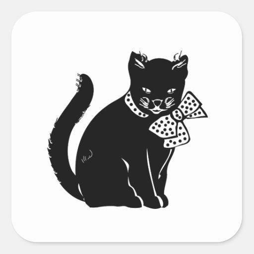 Bowtie Cat Sticker