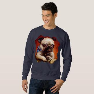 Bowtie Pug Dog Puppy Sweatshirt
