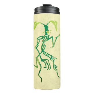 Bowtruckle Typography Graphic Thermal Tumbler