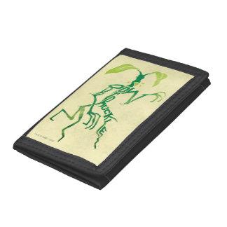 Bowtruckle Typography Graphic Tri-fold Wallet