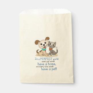 BowWow and MeeYow (Pet Adoption-Humane Treatment) Favour Bags