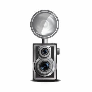Box Camera Standing Photo Sculpture