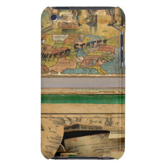 Box Dissected map, United States Case-Mate iPod Touch Case